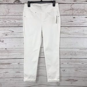 Style & Co Boyfriend Jeans Stretch Low-Rise Cuffed